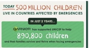 Garnier Raises Funds for UNICEF