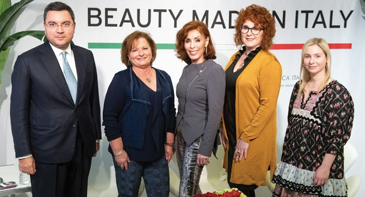 Beauty Industry Leaders Discuss Opportunities  for 'Made in Italy Brands'