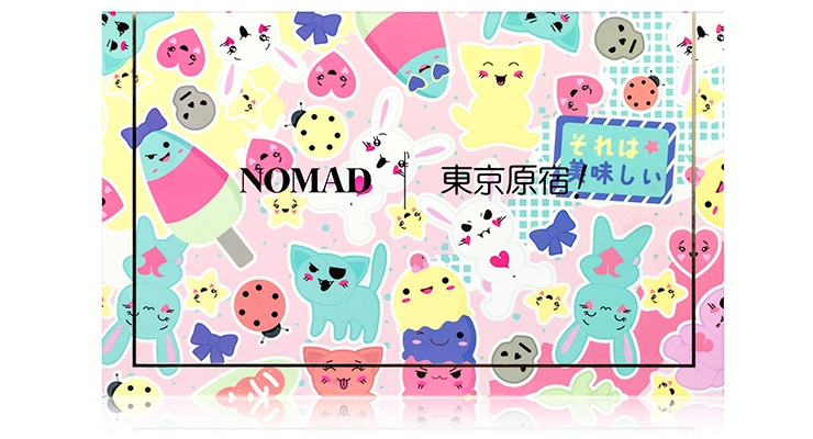 Nomad Cosmetics Mirrors Harajuku with New Palette
