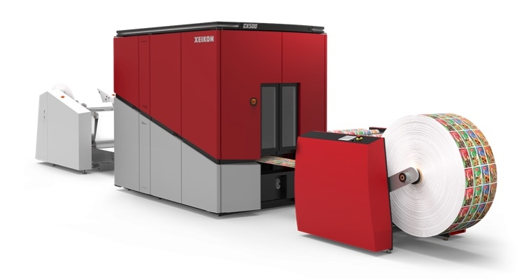 Xeikon CX500 Launching in North America at Printing United 2019