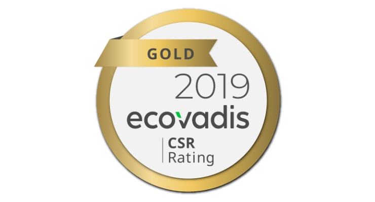 Verescence Awarded EcoVadis Gold