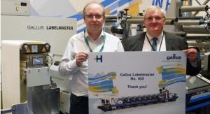 Gallus Celebrates 100th Labelmaster Sold