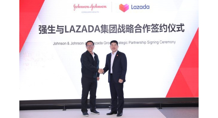 Johnson & Johnson Is Partnering with Lazada Group To Reach Chinese Consumers