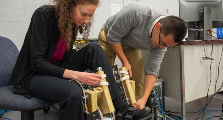 NSF Grant Provides Next Step for Assistive Walking Exoskeletons