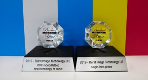 Durst Delta Series Wins 2019 SGIA Product of the Year Award