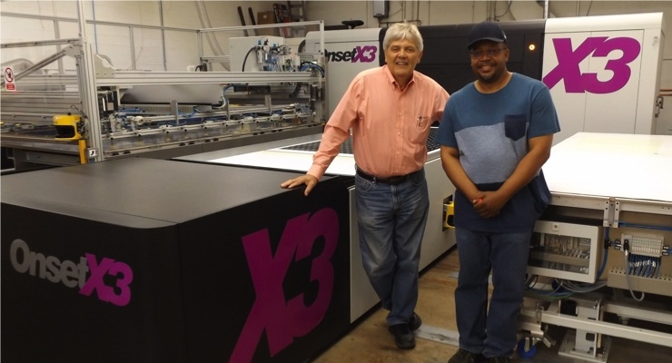Onset X3 Turns International Label & Printing Company