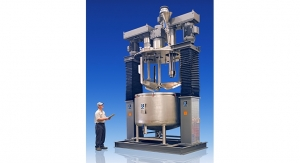ROSS Offers Triple Shaft Mixer with Powder Induction Manifold
