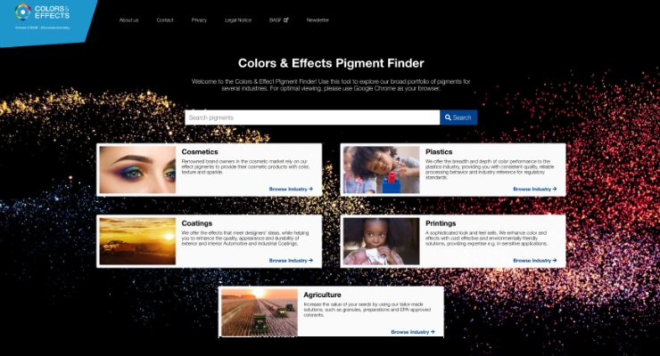 Colors & Effects Launches 'Pigment Finder'