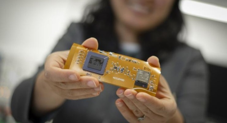 Miniaturized, Wireless Sensor Measures a Baby's Blood Oxygen Levels