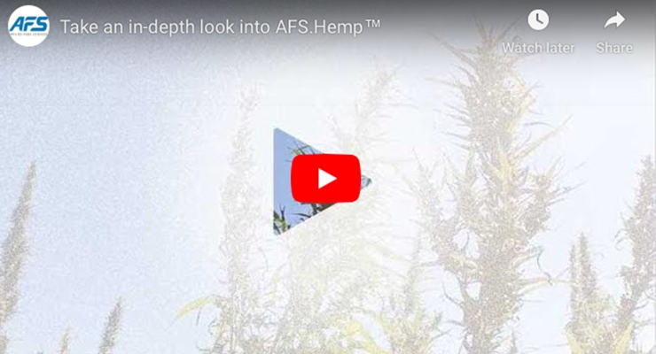 Take an in-depth look into AFS.Hemp™