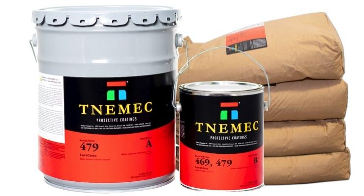 Tnemec Introduces LavaCrete Polymer Concretes