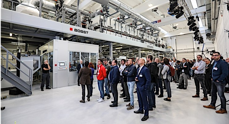 Bobst opens new coating facility in Italy