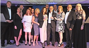 Sandon Global honored at UK Halton Chamber Business Awards