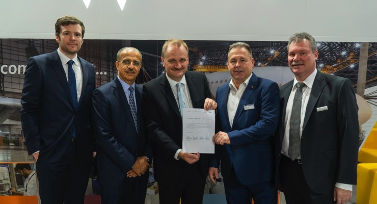 Etihad Engineering, SCHOTT, jetlite, Lufthansa Technik to Develop Human-Centric Lighting