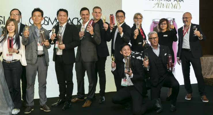 Cosmoprof & Cosmopack Asia Awards Winners Announced