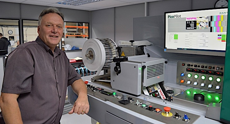 Customark adds Dantex PicoColour digital label press
