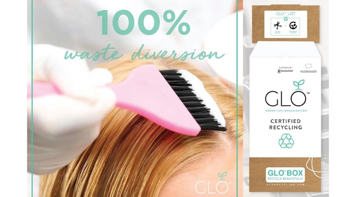 GLO To Launch Recycling Program for Salon Waste