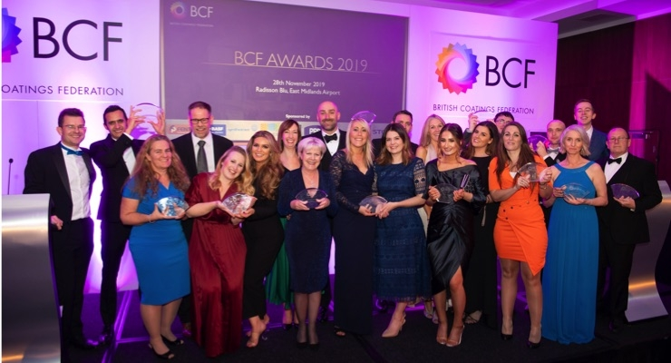 BCF Announces Coatings Industry Awards Winners
