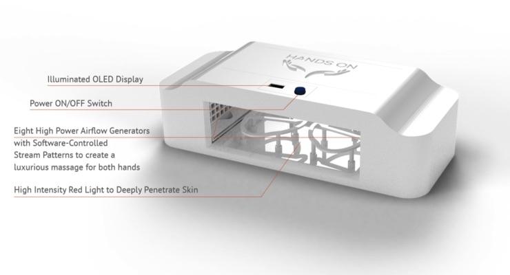 Hand-y Device on Indiegogo Treats Aging Skin