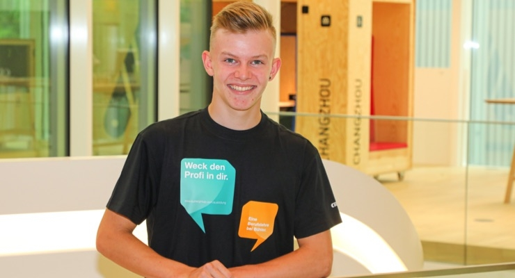 8,000th Apprentice Starts Career with Bühler