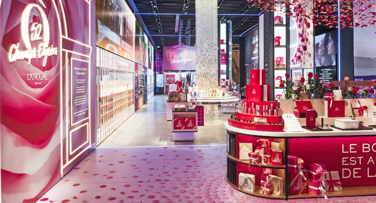 Lancôme Inaugurates First Flagship in Paris