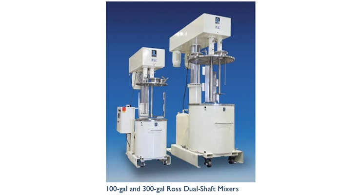 Cost-effective processing of viscous mixtures