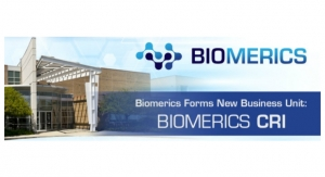 Biomerics Forms New Business Unit