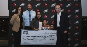 Cristo Rey High School Educator Named 2019 Axalta All-Pro Teacher of the Year