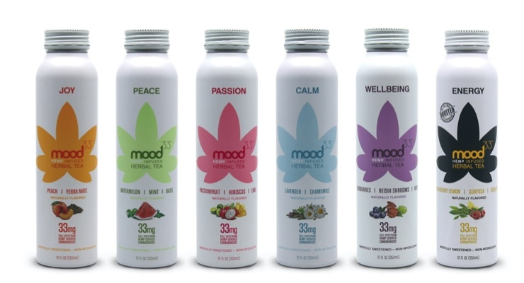 Mood33 to Introduce Hemp-Infused Herbal Teas Featuring Evo Hemp