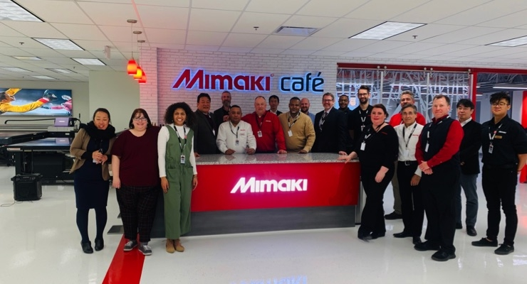 Mimaki USA Celebrates Grand Reopening of New Jersey Technology Center