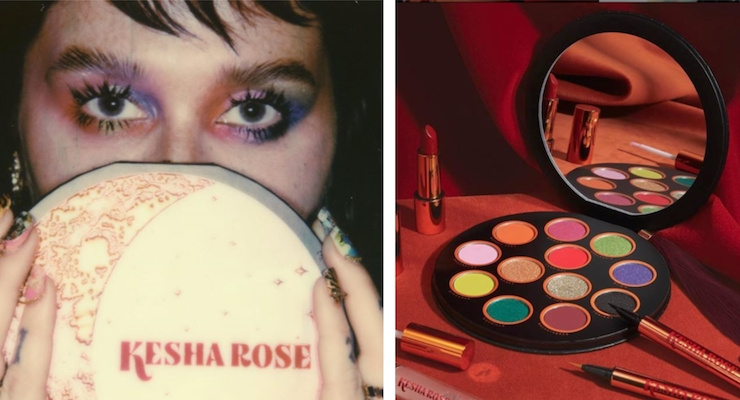 Kesha Launched a Colorful Makeup Line