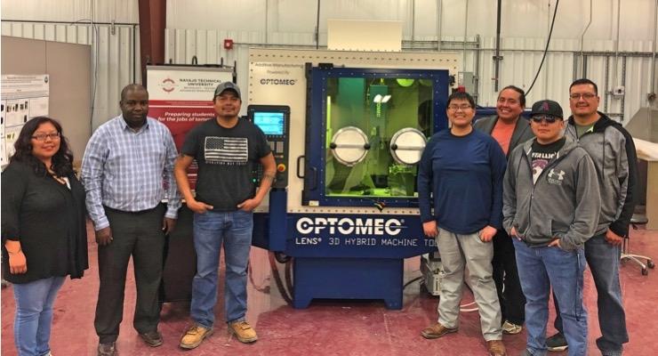 Optomec 3D Metal Printing Technology Chosen by Navajo Technical University for NASA Mission