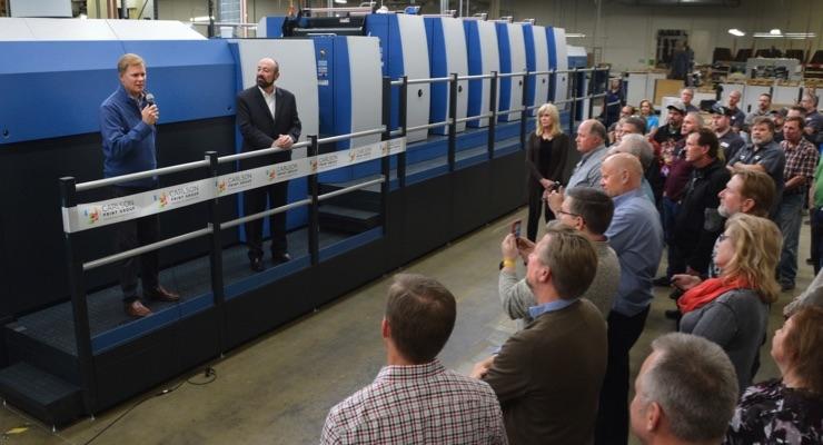 Carlson Print Group Adds Koenig & Bauer Rapida 105 PRO Six-Color Press