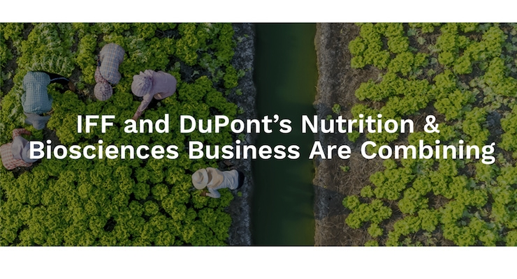 IFF Joins with DuPont's Nutrition & Biosciences Business