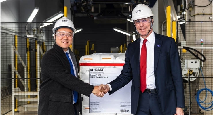 BASF Inaugurates 2nd Phase of Shanghai Antioxidants Manufacturing Plant