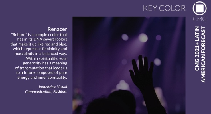 Color Marketing Group Announces 2021+ Latin American Key Color – Renacer