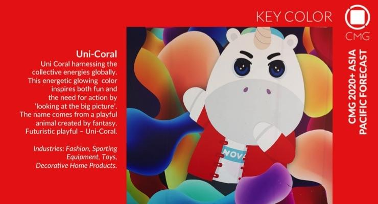 Color Marketing Group Announces 2021+ Asia Pacific Key Color – Uni Coral