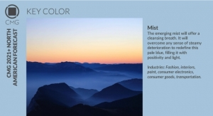 Color Marketing Group Announces 2021+ North American Key Color – Mist