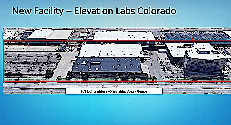 Elevation Labs Expands in Denver