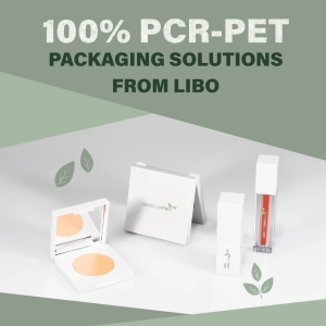 100% PCR-PET PACKAGING SOLUTIONS FROM LIBO
