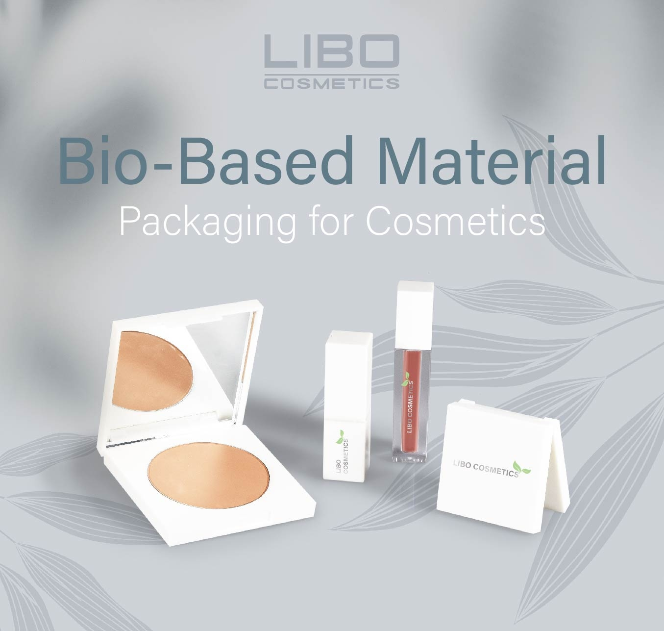 Sustainable Bio-Based Material Packaging for Cosmetics!