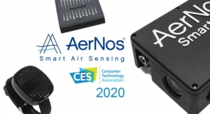 AerNos Introducing New Nano Gas Sensor Products at CES 2020