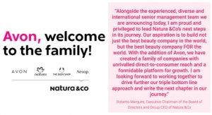 Natura &Co Announces Avon