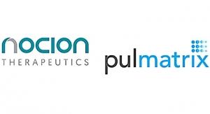 Pulmatrix, Nocion Enter Drug Delivery Alliance