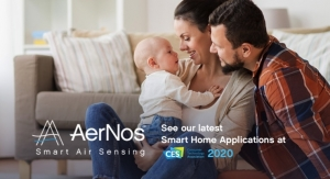 AerNos's Smart Home Gas Sensors to Play Role in Health, Wellness