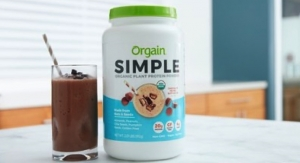 Orgain Debuts Simple Organic Plant Based Protein Powder in Chocolate Peanut Butter Cup