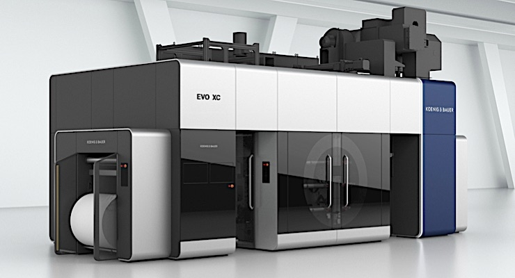 Koenig & Bauer Flexotecnica launches new CI flexo press