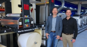 Dutch label converter increases efficiency by 20% with Martin Automatic