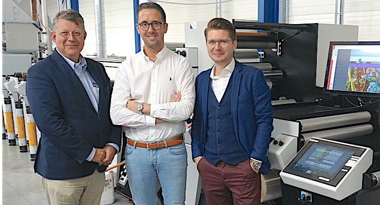 First Mark Andy P7E press heads to Benelux region