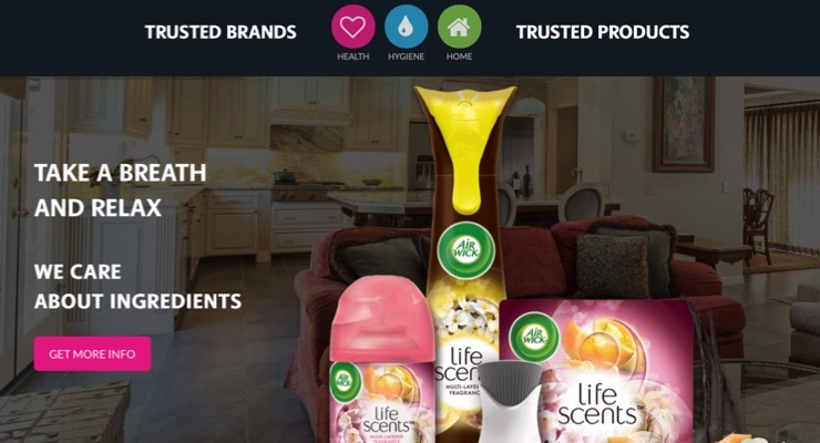 RB Relaunches Ingredient Disclosure Site